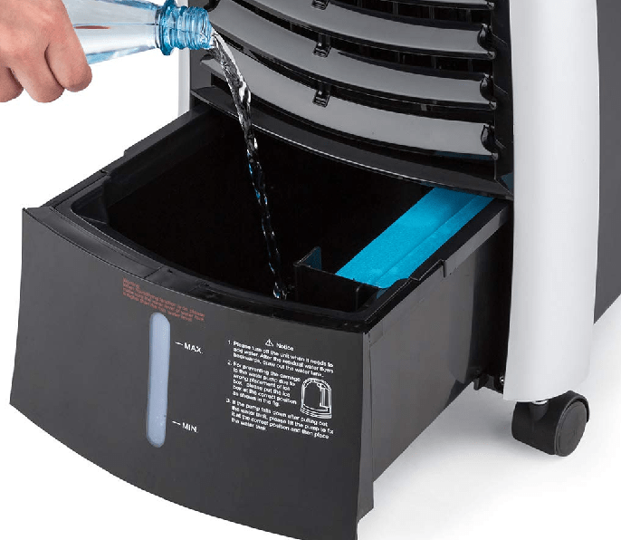 deposito de agua del Klarstein Maxfresh