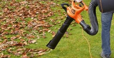 La mejor sopladora de jardín