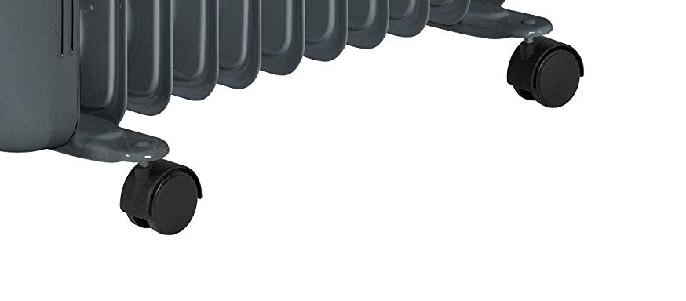 Ruedas del radiador de aceite AEG RA 5522