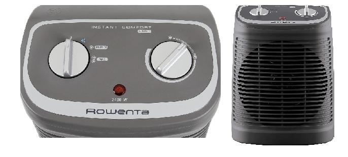 Evaluación del Calefactor Rowenta Instant Comfort Compact
