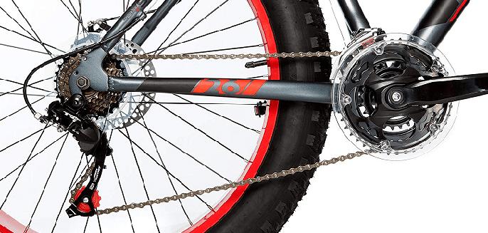 """Cambio de la bicicleta Moma Bikes FAT 26"""""""