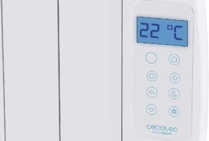 SmartControl del radiador Cecotec Ready Warm 2000 Thermal