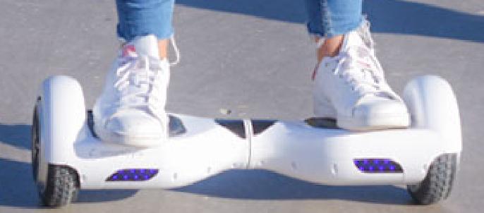 Usar el hoverboard SmartGyro X2 UL