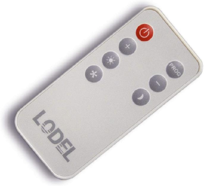 Mando a distancia del radiador Lodel RA10